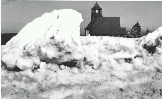 Kirche Zinnwald 1955