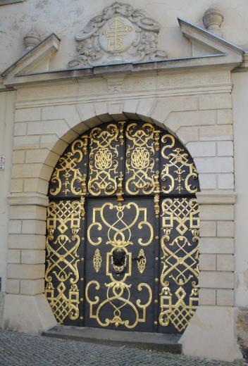 Goldenes Portal in Bautzen