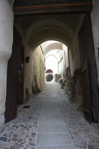 Eingangsportal Schloß Weesenstein