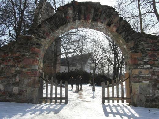 Eingang zum ehem. Klostergelände