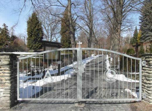 Chemnitz - Schlossfriedhof Anfang und Ende