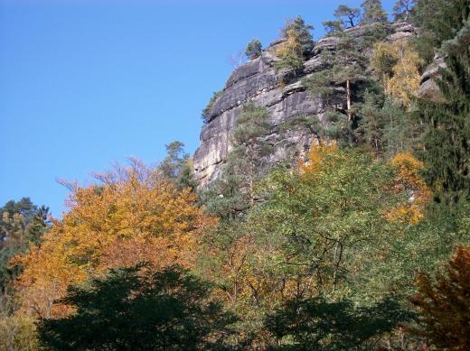 Herbstliches Polenztal