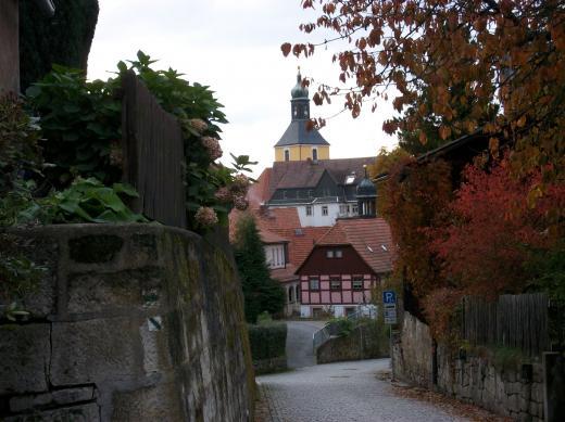 Hohenstein im Herbst 1