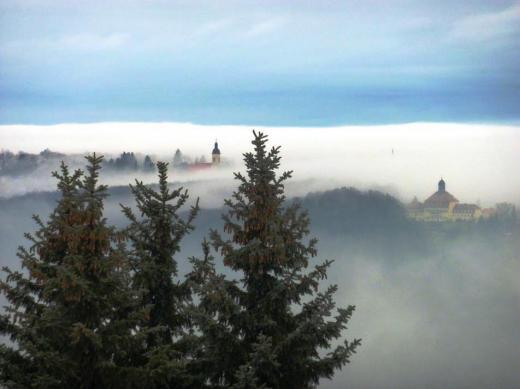 Nebel über Pesterwitz