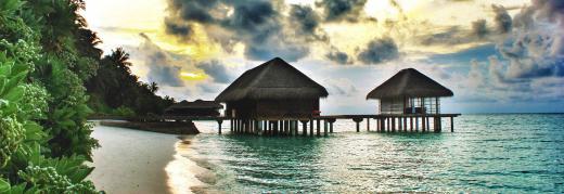 Traumabend auf den Malediven