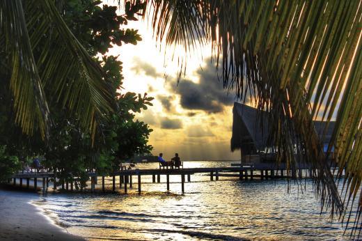 Sundowner Malediven