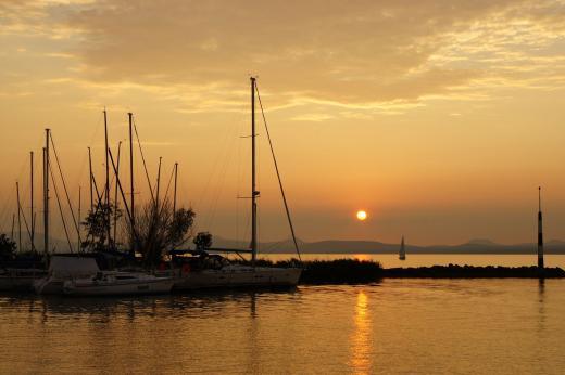 Abendstimmung am Balaton