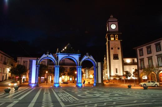Stadttor von Ponta Delgada