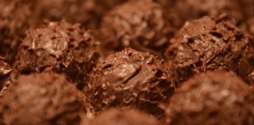 schokoladig, trüfflig, rund - ganz schnell verschwunden im Mund
