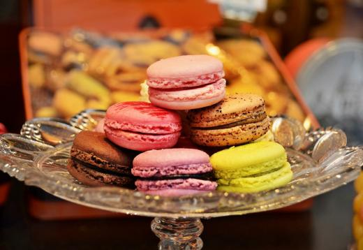 Macarons nach Pariser Art