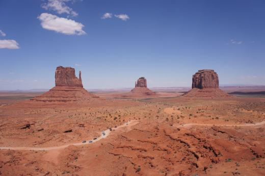 Ralley durch Monument Valley