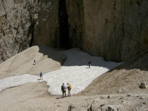 Gletscher Wandern