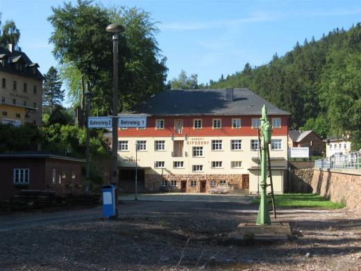 Der Bahnhof Kipsdorf 1