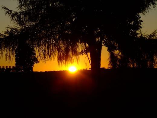 Sonnenaufgang in Fürstenau