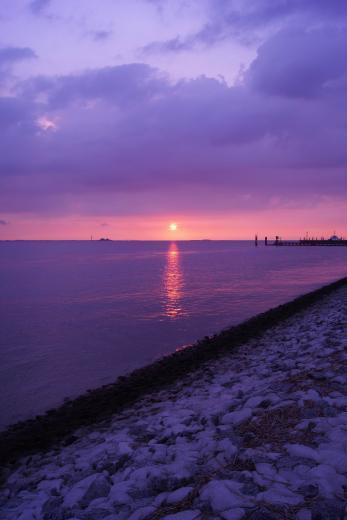 Sonnenuntergang an der Nordsee 3