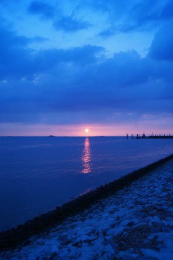 Sonnenuntergang an der Nordsee 4
