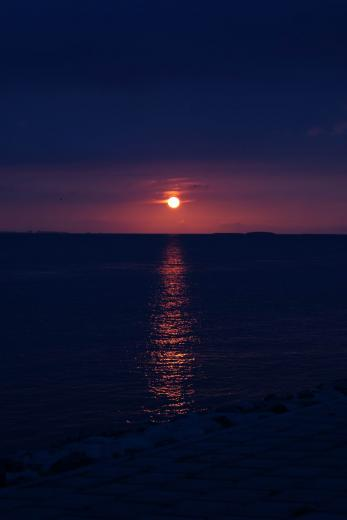 Sonnenuntergang an der Nordsee 5