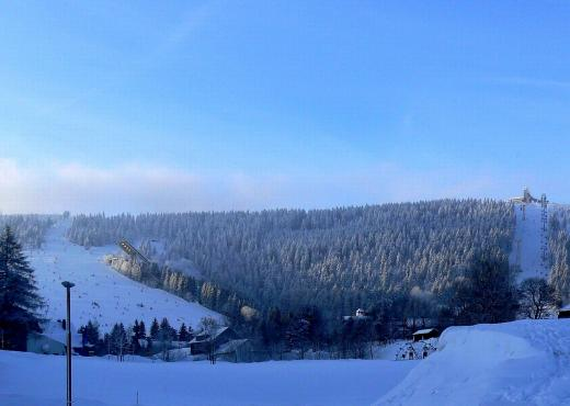 Oberwiesenthal- Schnee satt