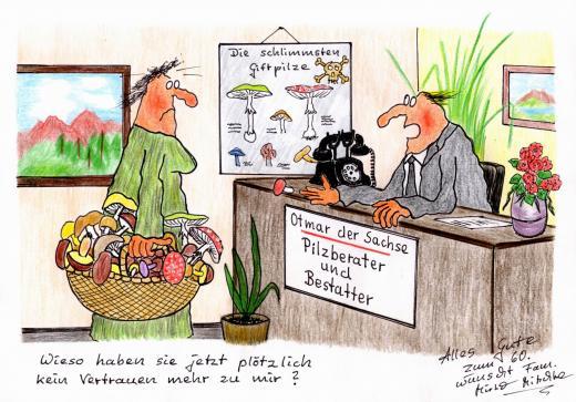 Pilzberater und Bestatter