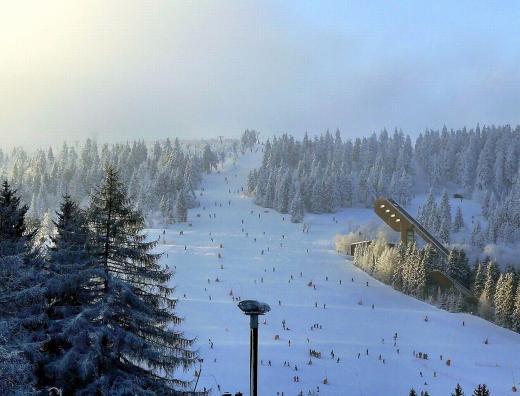 Oberwiesenthal- Ski und Rodel gut
