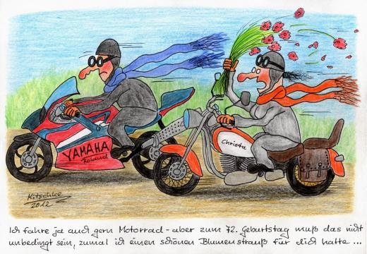 Motorradgeburtstag